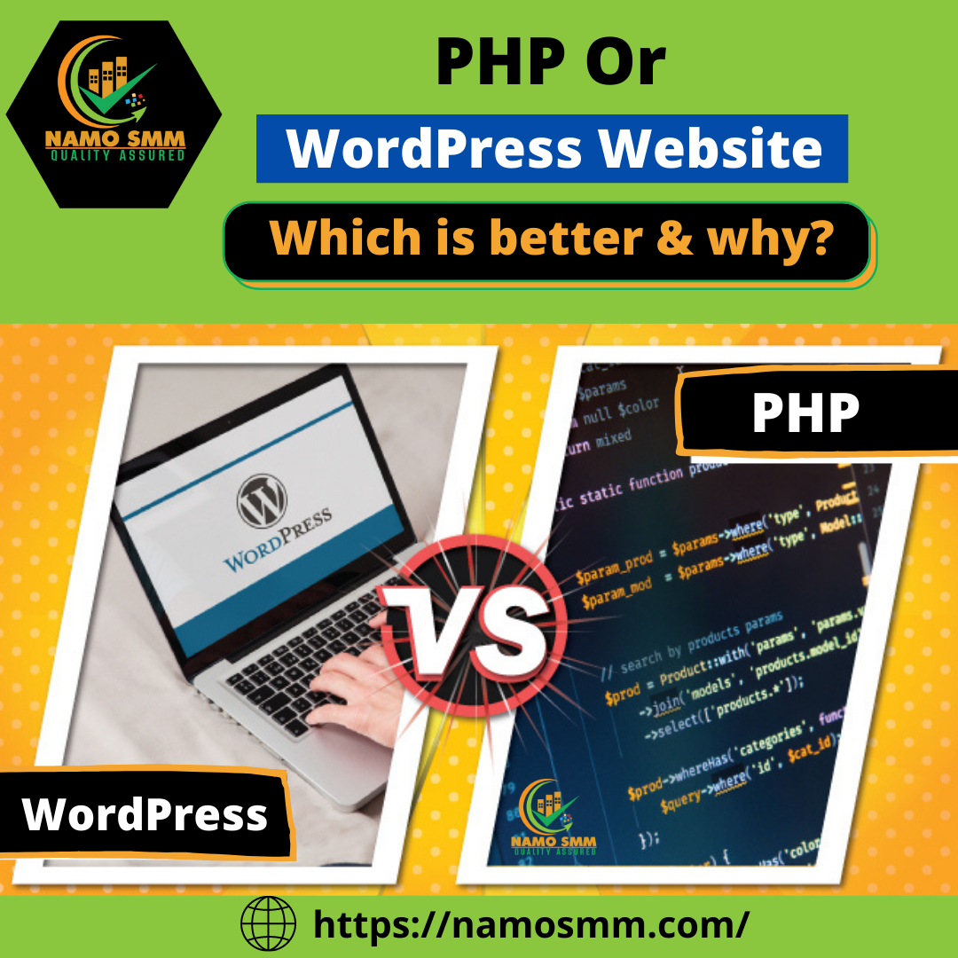 Difference between PHP & WordPress